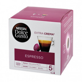 CAPSULES CAFE ESPRESSOX16 DOLCE GUSTO NESCAFE 88GRS