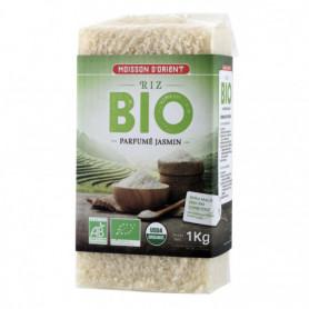 Riz Bio parfumé jasmin MOISSON D'ORIENT 1kg
