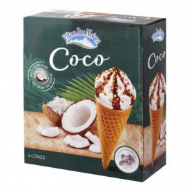 CONE X4 PITON DES NEIGES COCO 288G