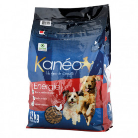 CROQUETTES CHIEN ENERGIE KANEO 12KGS