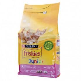 Croquettes pour chats Junior au Poulet et Légumes FRISKIES PURINA 2 KGS