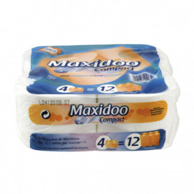 Papier toilette compact 4x Maxidoo