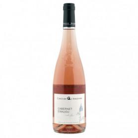 Vin rosé Cabernet d'anjou Cave Angevine 75cl