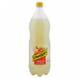 Soda Schweppes Agrumes Bouteille - 1,5L