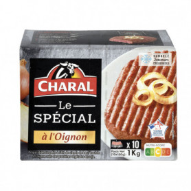 Hamburger oignon x 10 Charal 1kg