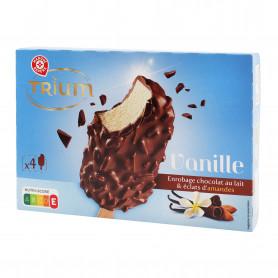 4 TRIUM CHOCOLAT AU LAIT ET AMANDE TROFIC 314GR