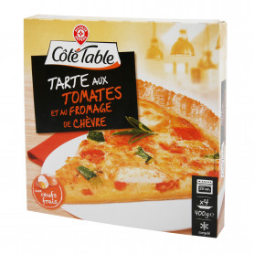 Tarte tomates et fromage de chèvre - Côté table - 400 g