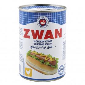 SAUCISSES HOT DOG POULET - ZWAN - 200GR