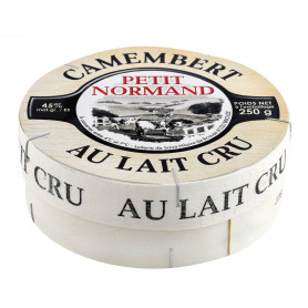 Camembert Petit Normand (45% MG) au lait cru - 250 g