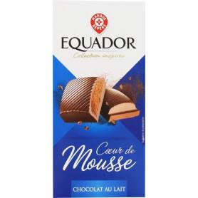 Tablette de Chocolat au lait fourré mousse - Tablette d'Or - 160 g