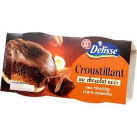 Gâteau croustillant au chocolat x 2 - Délisse - 160 g