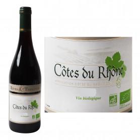 AOC Côtes du Rhône Vin rouge BIO- Rives Terrasses 75cl