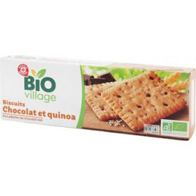 Biscuits chocolat et quinoa BIO VILLAGE 160g