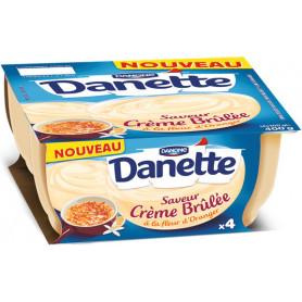 DANETTE CREME BRULEE 4X100G