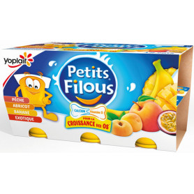 PETITS FILOUS FRT JAUNES X12