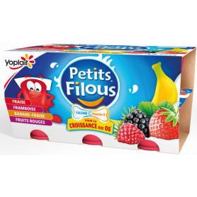 PETITS FILOUS FRT ROUGES X12