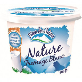 FROMAGE BLANC 20%MG 500G PDN