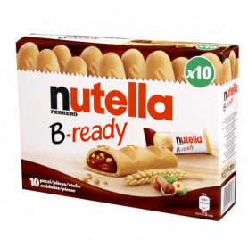 BISCUIT B-READY X10 NUTELLA 250G