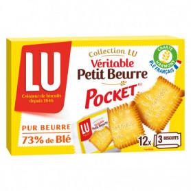 Biscuit Petit beurre  Véritable (12 sachets X3) LU 300Grs
