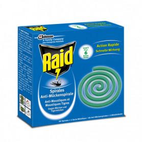 RAID SPIRALE ANTI-MOUSTIQUES USAGE EXTERIEUR 10 SPIRALES