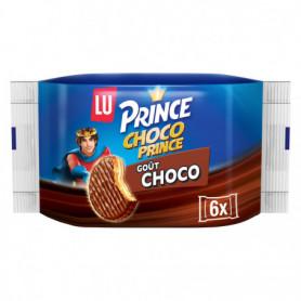BISCUITS CHOCOLAT X6 CHOCO PRINCE LU 171GRS