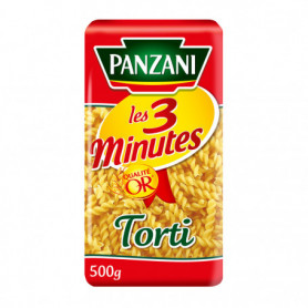 PATES TORTI 3 MINUTES PANZANI   500G