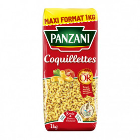 PATES COQUILLETTES PANZANI 1KG