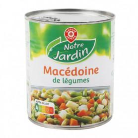 Macédoine légumes Notre Jardin 530g