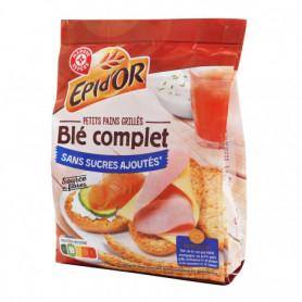 Petits pains grillés Epi d'Or Au blé complet - 225g
