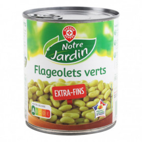 FLAGEOLET VERT EXTRA-FINS NOTRE JARDIN 530 GRS