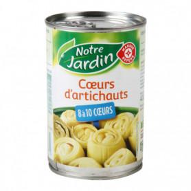 CŒURS D'ARTICHAUT - 8 À 10 COEURS - NOTRE JARDIN - 240G