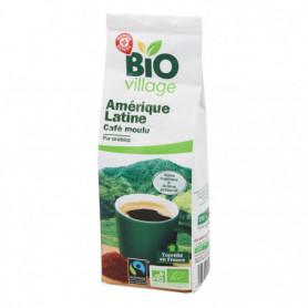 CAFÉ MOULU AMÉRIQUE LATINE - BIO VILLAGE 250G