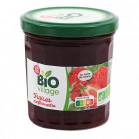 Confiture extra de fraise - BIO VILLAGE 370g