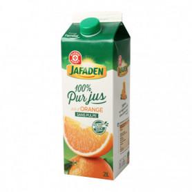 100% Pur jus d'orange Jafaden Sans pulpe - 2L