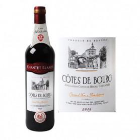 Vin rouge Chantet Blanet Côtes de Bourg AOC - 75cl