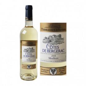 Vin blanc Terrasses d'Autan Côtes de Bergerac AOC - 75cl