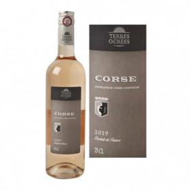 Vin rosé Terres Ocrées Corse AOC - 75cl