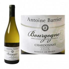 Vin blanc Antoine Barrier Bourgogne Chardonnay AOC - 75cl