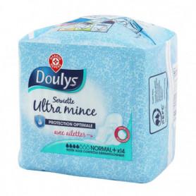 Serviette hygiénique Doulys Ultra - Normal+ - x14