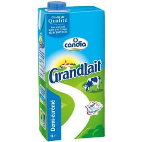 LAIT 1/2ECREME - CANDIA GRANDLAIT 1L