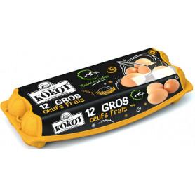 GROS OEUFS X12- KOKOT