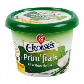 Fromage à tartiner ail et fines herbes 24%mg - Les Croisés - 250 g