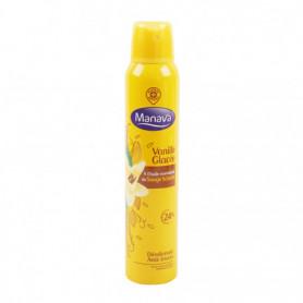 Déodorant Manava fraîcheur Vanille glacée spray 200ml