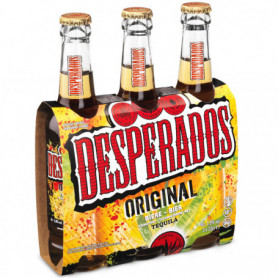 Bières Desperados 3x33cl