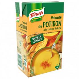 Velouté Potiron à la Crème Fraîche Knorr 1L