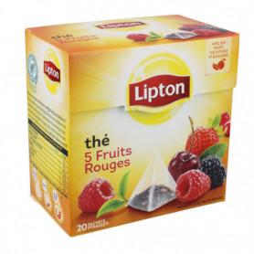 Thé Noir 5 Fruits Rouges Lipton X20 sachets