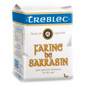 FARINE DE SARRASIN BLE NOIR TREBLEC 1KG