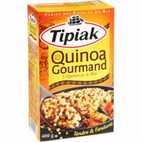 QUINOA GOURMAND TIPIAK 400GRS