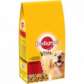Croquettes chiens Pedigree Adulte - Boeuf - 10kg