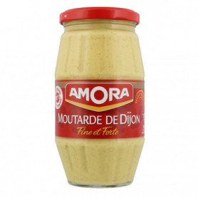 Moutarde de Dijon Fine et Forte Bocal Amora  440g